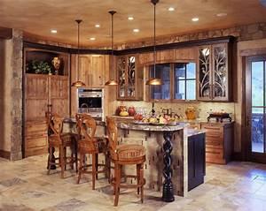 21, Amazing, Rustic, Kitchen, Design, Ideas