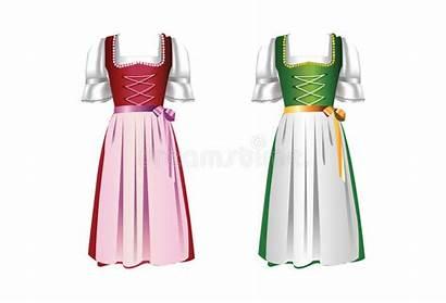 Dirndl Dirndlkleider Pair Dresses Dei Robes Paire