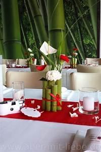 Tischdeko Hochzeit Rot : tischdeko in rot wei hochzeitsdeko renautria geb ndelt als tischgesteck best ckt mit ~ Yasmunasinghe.com Haus und Dekorationen