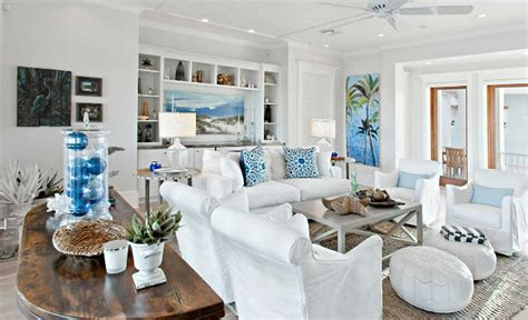 Beach House Decorating Ideas 2  24 Spaces