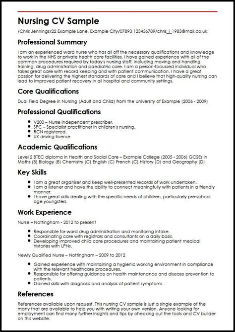 cv template qualifications cvtemplate qualifications