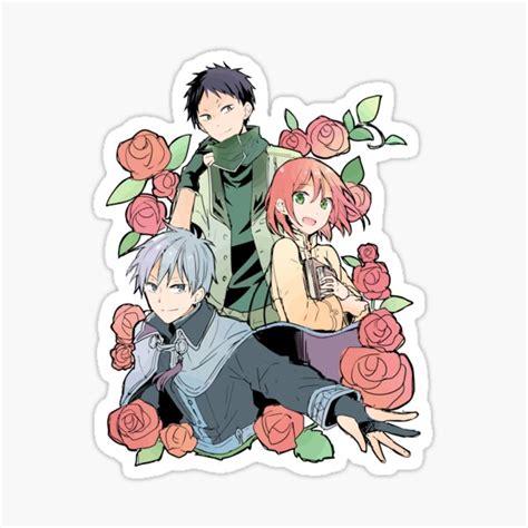 akagami no shirayuki hime stickers redbubble