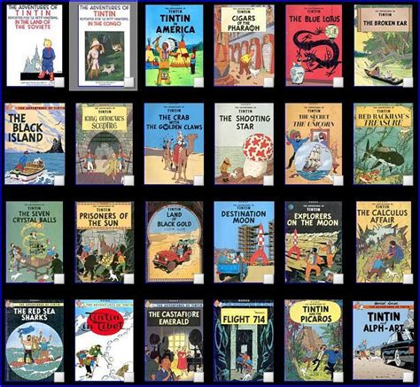 163 Best Images About Tintin Books Cover On Pinterest