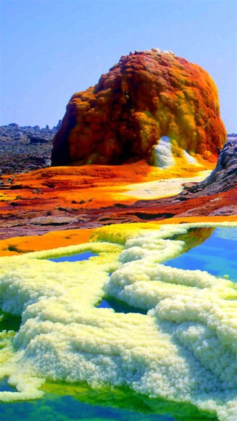 Dallol Volcano Wallapapers Birchtree