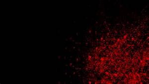 Red And Black Abstract HD Wallpaper