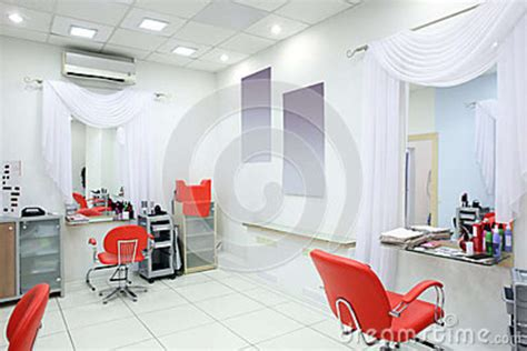 Interior Of Modern Beauty Salon Stock Photo  Image 42578412