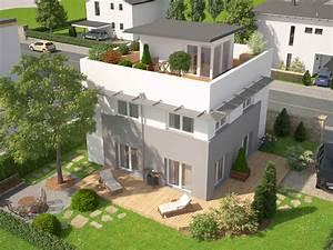Haus Mit Dachterrasse : fertighaus sky view mit dachterrasse mit bekiesung vario haus fertigteilh user ~ Frokenaadalensverden.com Haus und Dekorationen