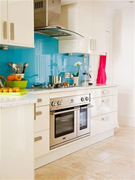 bright  colorful kitchen design ideas digsdigs