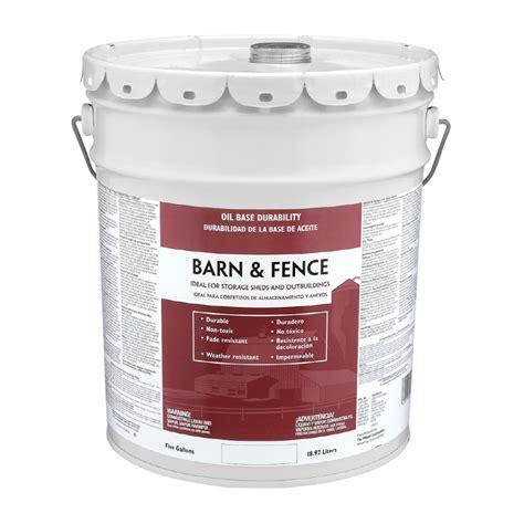 shop valspar barn and fence gloss based exterior