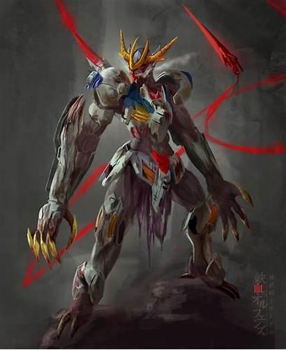 Barbatos Lupus Rex Gundam Wallpapers Iron Orphans