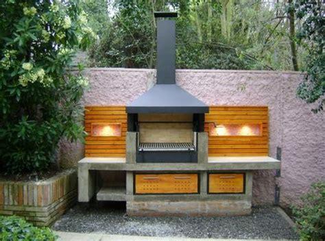 imagenes de asadores planos de casas modernas