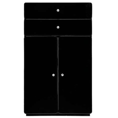 standing kitchen cabinets buy stockholm black gloss door unit from our 2488