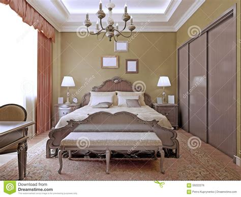 images de chambre deco bedroom with ceiling neon lights stock photo