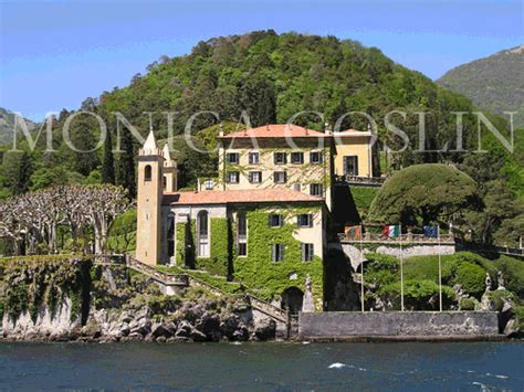 Villa Del Balbianello On Lake Como Italy The Monica