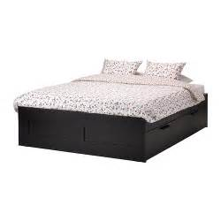 brimnes bed frame with storage king ikea