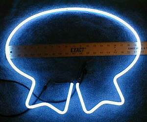 Miscellaneous neon beer sign tubes & parts Assorted beer