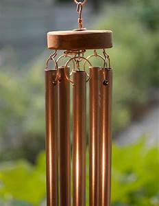 Wind, Chime, Large, Copper, Cedar, Glass, Windchimes, U2013, Coast, Chimes