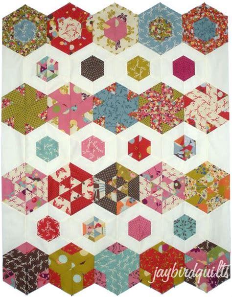 hexagon quilt template hexagon quilt along finishing directions jaybird quilts