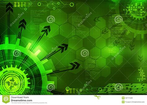 Digital Wallpaper Green by Abstract Digital Green Background With Arrows Royalty Free