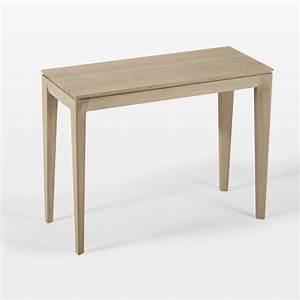 Table Salle A Manger Design : console design buzz extensible en table de salle manger amobois ~ Teatrodelosmanantiales.com Idées de Décoration