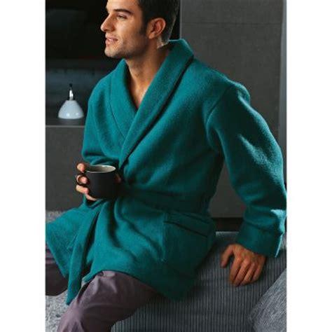 robe de chambre chaude pour homme veste d 39 intérieur longueur 90 cm homme en courtelle du 80