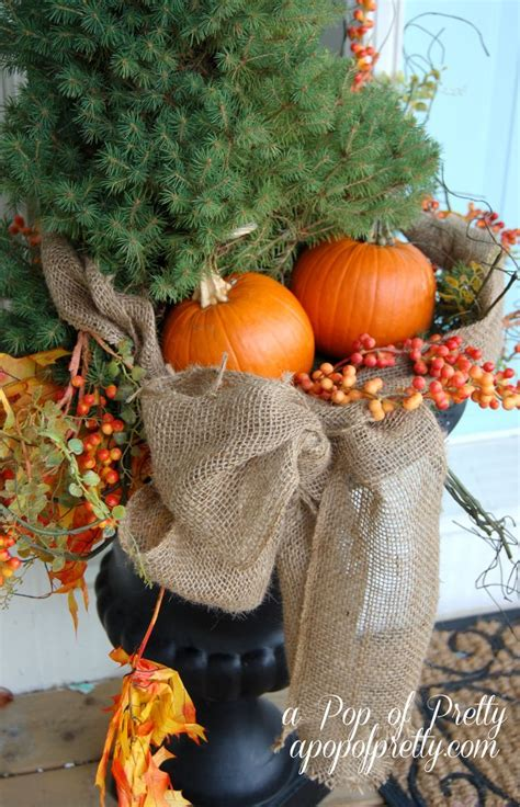 images  outdoor fall decorations  pinterest