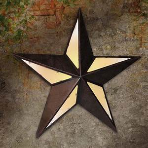 Texas star metal lighted wall decor at hayneedle