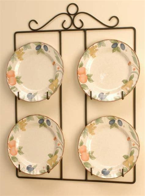 wrought iron square plate rack     plates plate racks  hangers