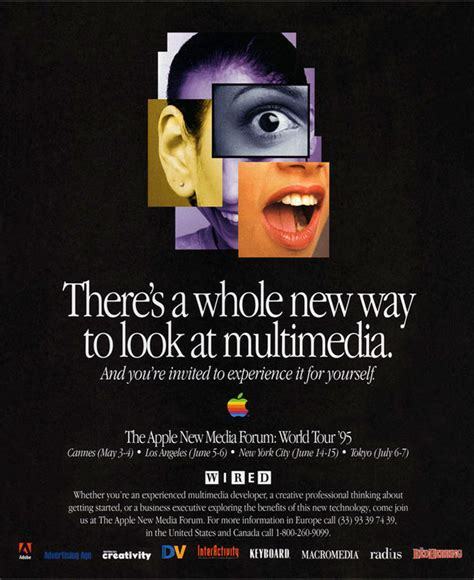 evolution  apple ads webdesigner depot