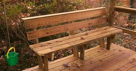 deck bench design plans benches picnic tables photo