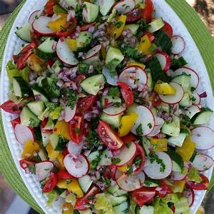 summer garden detox salad clean food crush