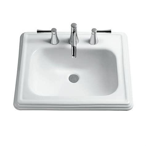 Self Bathroom Sink by Toto Promenade Self Bathroom Sink Reviews Wayfair