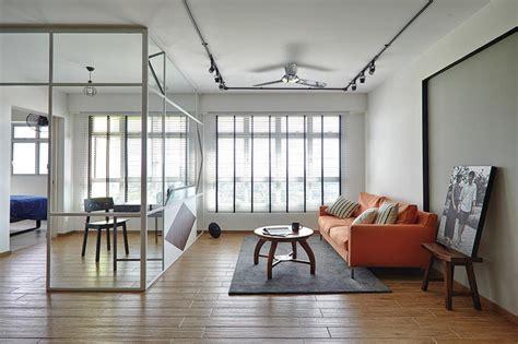stylish open concept homes     glass panels home decor singapore