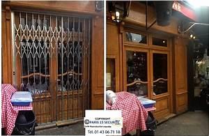 serrurerie paris protection par grilles rideaux With serrurerie paris 15