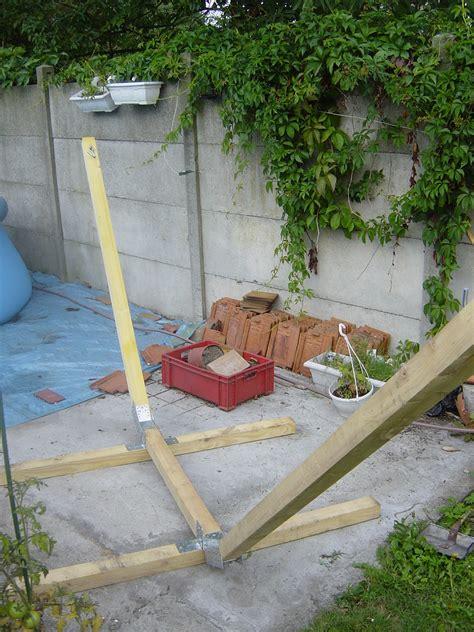 comment fabriquer une le comment fabriquer support 224 hamac en bois la maison du sart