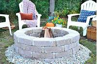 building a fire pit DIY Backyard Fire Pit Ideas + All the Accessories You'll Need | DIY Network Blog: Made + Remade ...