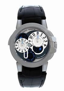 400matz44w Harry Winston Ocean Dual Time Used Price  U20ac 25 500