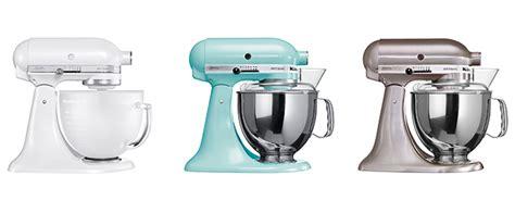 Die Kitchenaid Artisan Farben