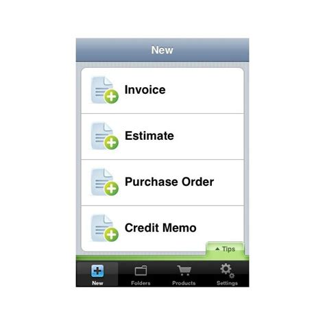 top  iphone invoice apps