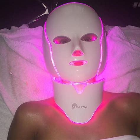 led light therapy mask illumask sparks selfie trend on social media ny daily news