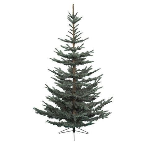 kaemingk 180cm 6ft blue nobilis fir artificial christmas