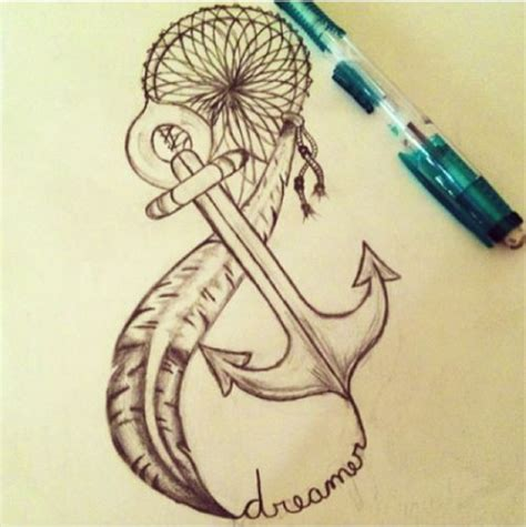 anchor infinity tattoos  quotes quotesgram