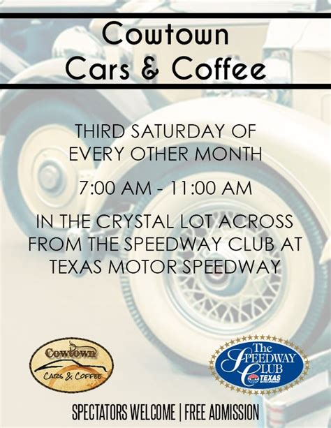 cadillac  club speedway club cowtown cars coffee