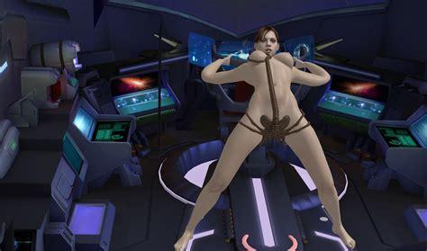Facehugger Jill Valentine Resident Evil Xnalara Xenomorph Alien Crossover Ultimate