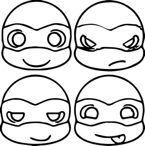 Teenage Mutant Ninja Turtles Donatello Coloring Pages