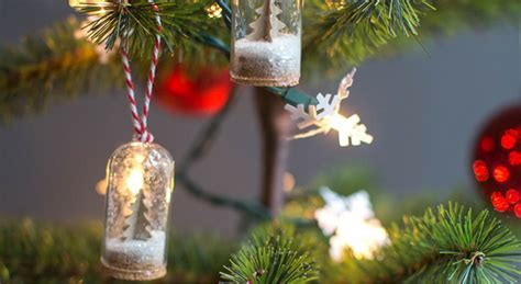 diy mini snow globe ornaments  days  homemade