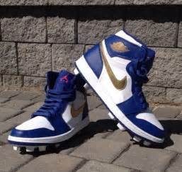 pros wear  custom cleats spikes  sneakers
