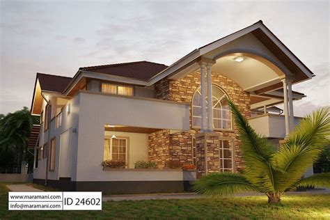 house with 4 bedrooms 4 bedroom house plan id 24602 house plans by maramani
