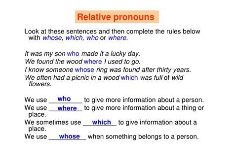 ingilizce relative pronouns cuemle olusturma alistirmasi