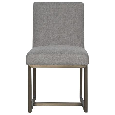 universal modern cooper upholstered side chair reeds